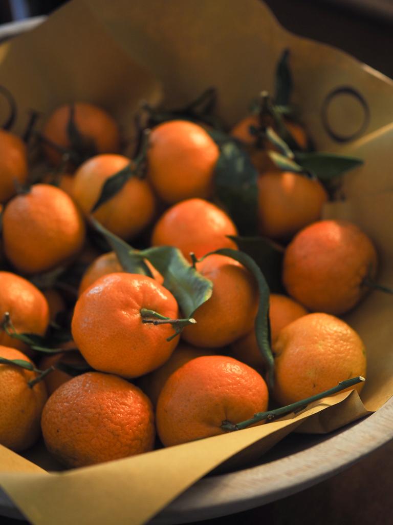 Mandariner og julestemning på Famo Carne