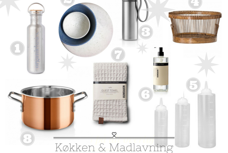 køkken og madlavning julegaveønsker