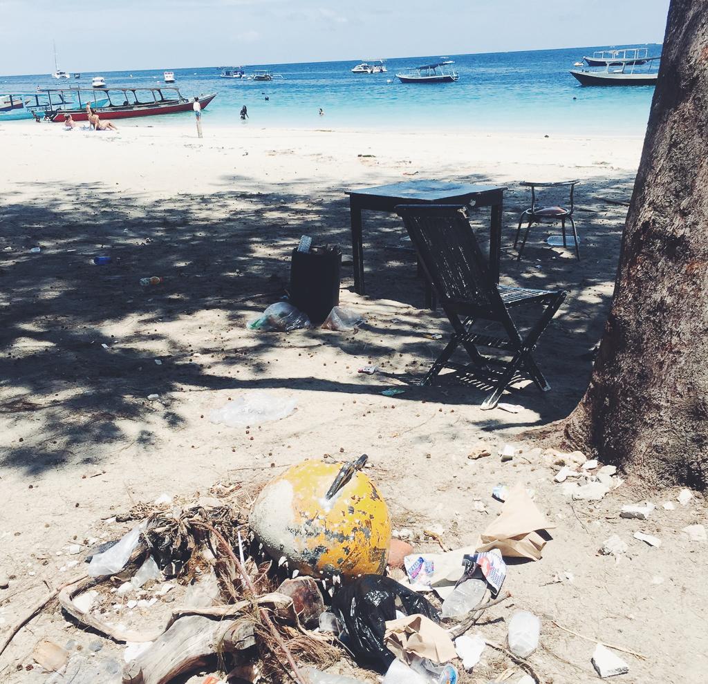 Affald og miljø på Gili øerne