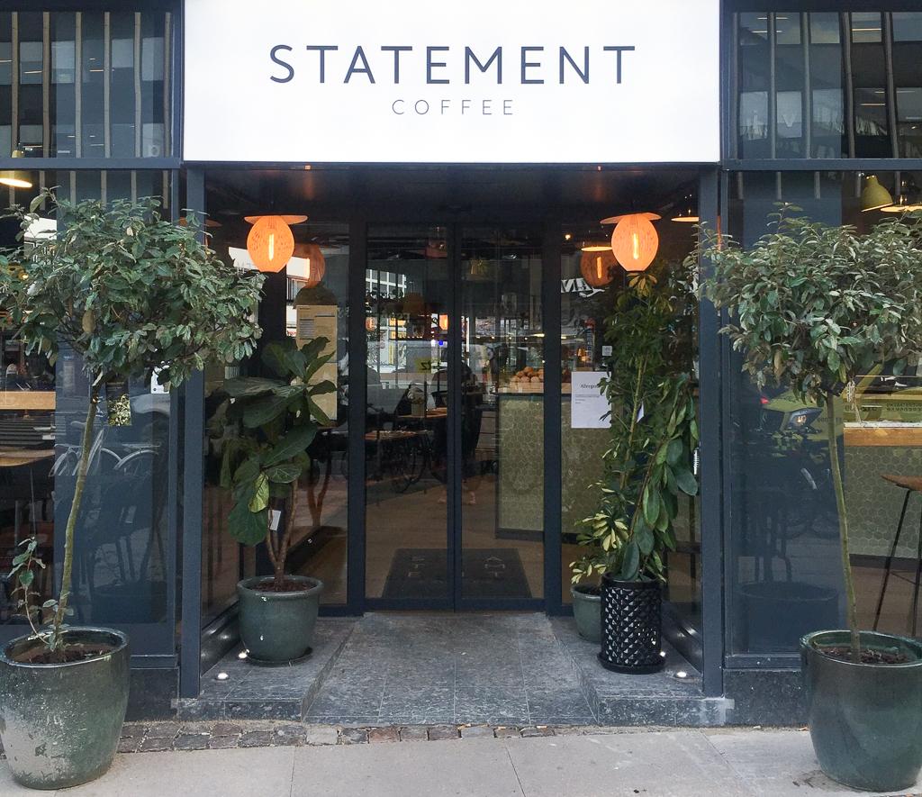 statement coffee ved Vesterport. God café ved Vesterport, Gammel Kongevej og Frederiksberg