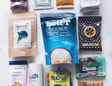 økologiske snacks fra Betterbox