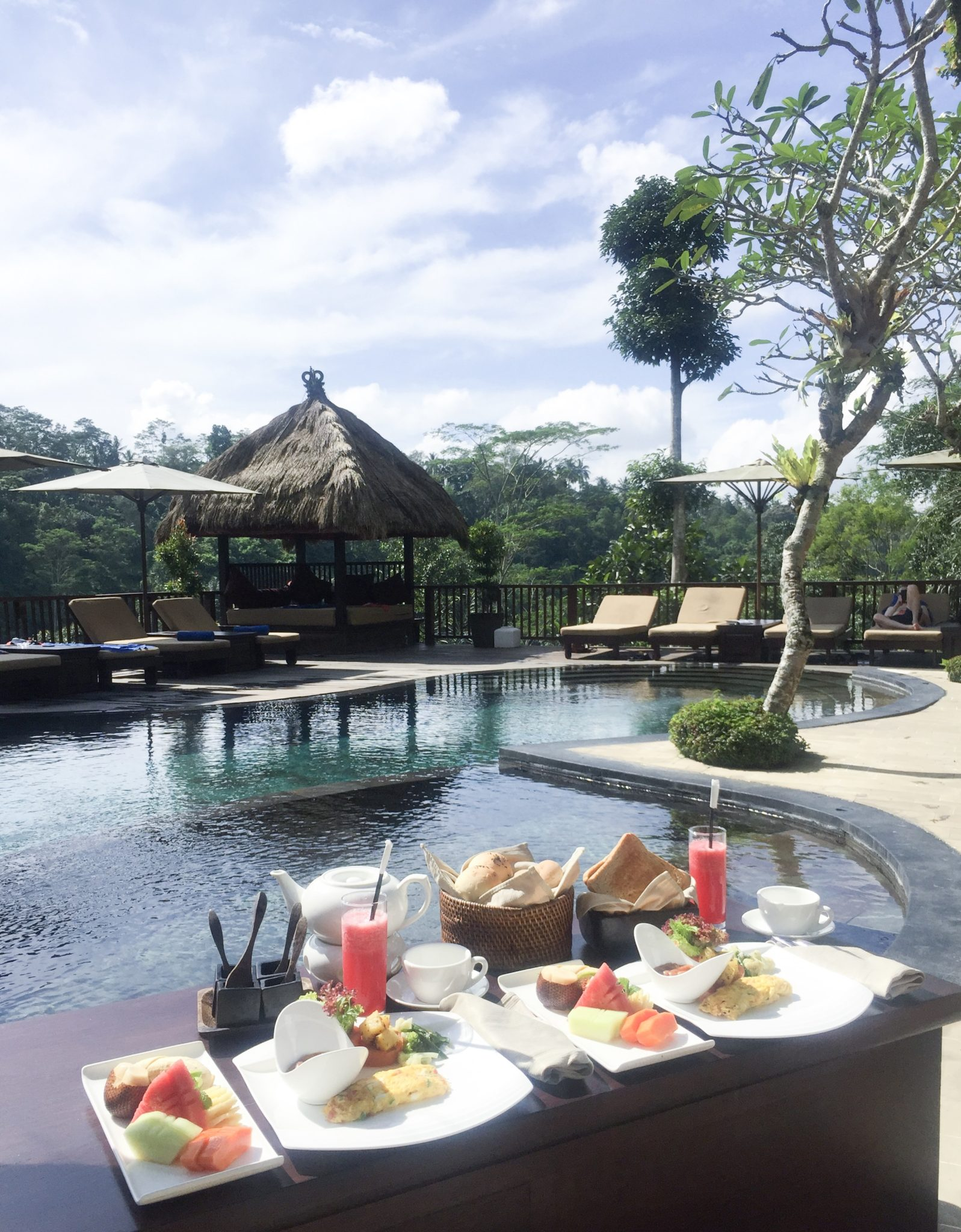 pool breakfast ubud - Nandini