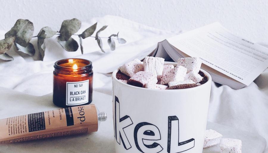 Sukkerfri varm kakao med ingefær