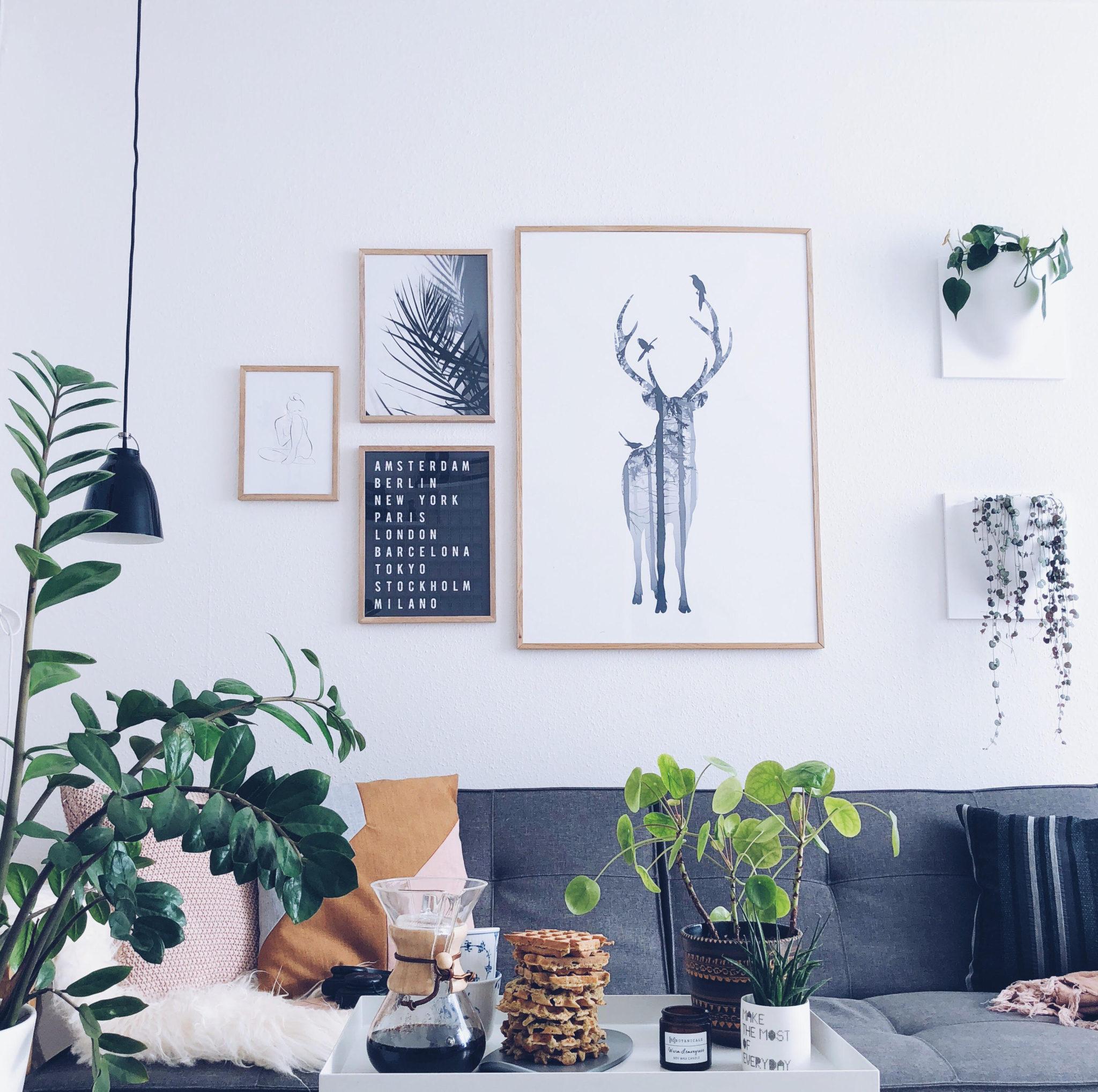 Lav din egen billedvæg i stuen / på hjemmekontoret