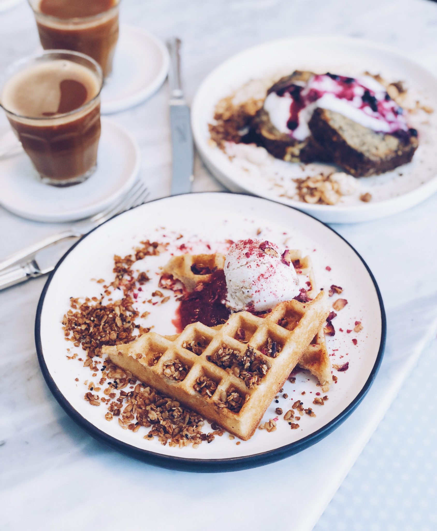vegansk og sund morgenmad på Acacia