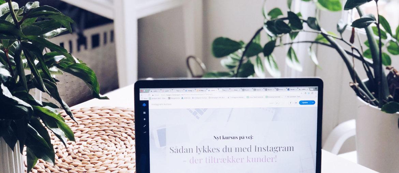Online Instagram kursus som du kan tage når som helst via computer