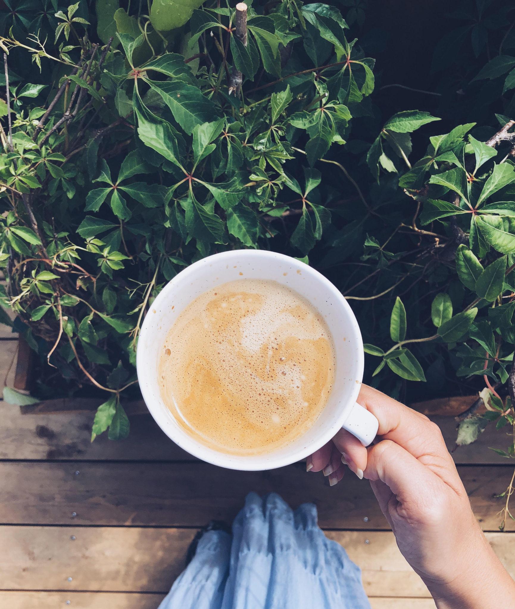 cappuccino med havremælk