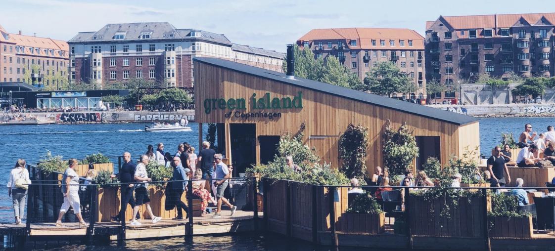 green island of cph, Kalvebod Brygge, København