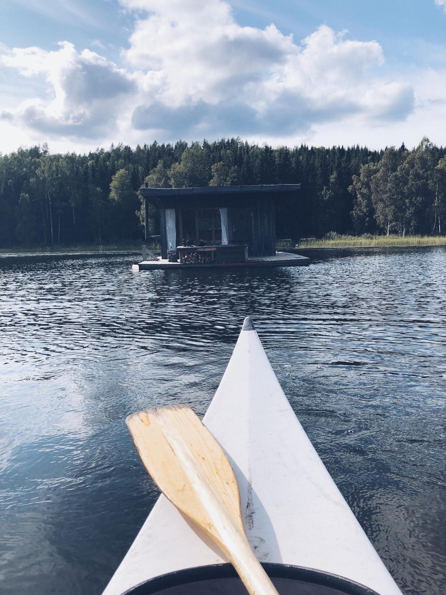 hytte på vandet i Naturbyn, Värmland