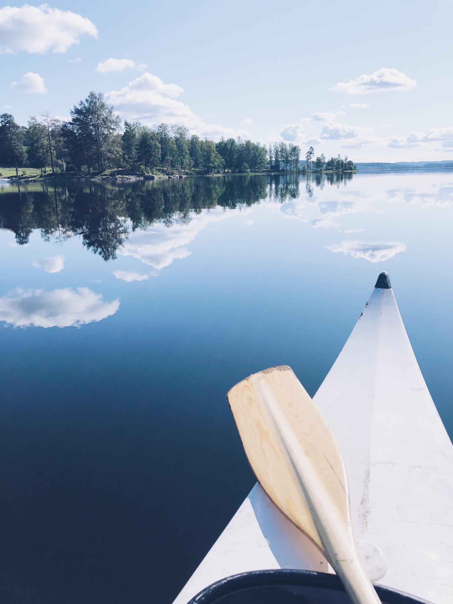 kano i sverige - naturbyn