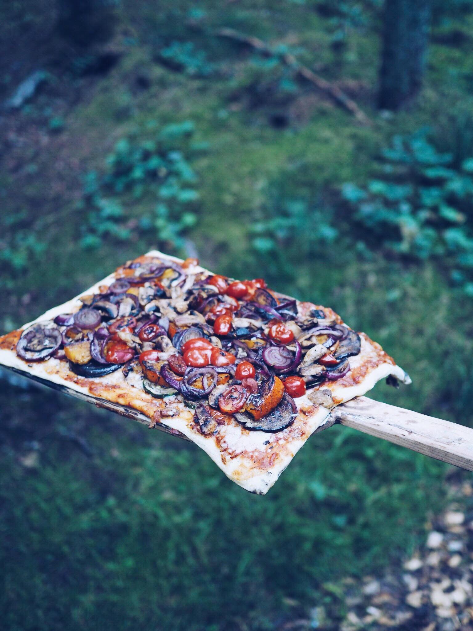 pizza i det fri i Sverige