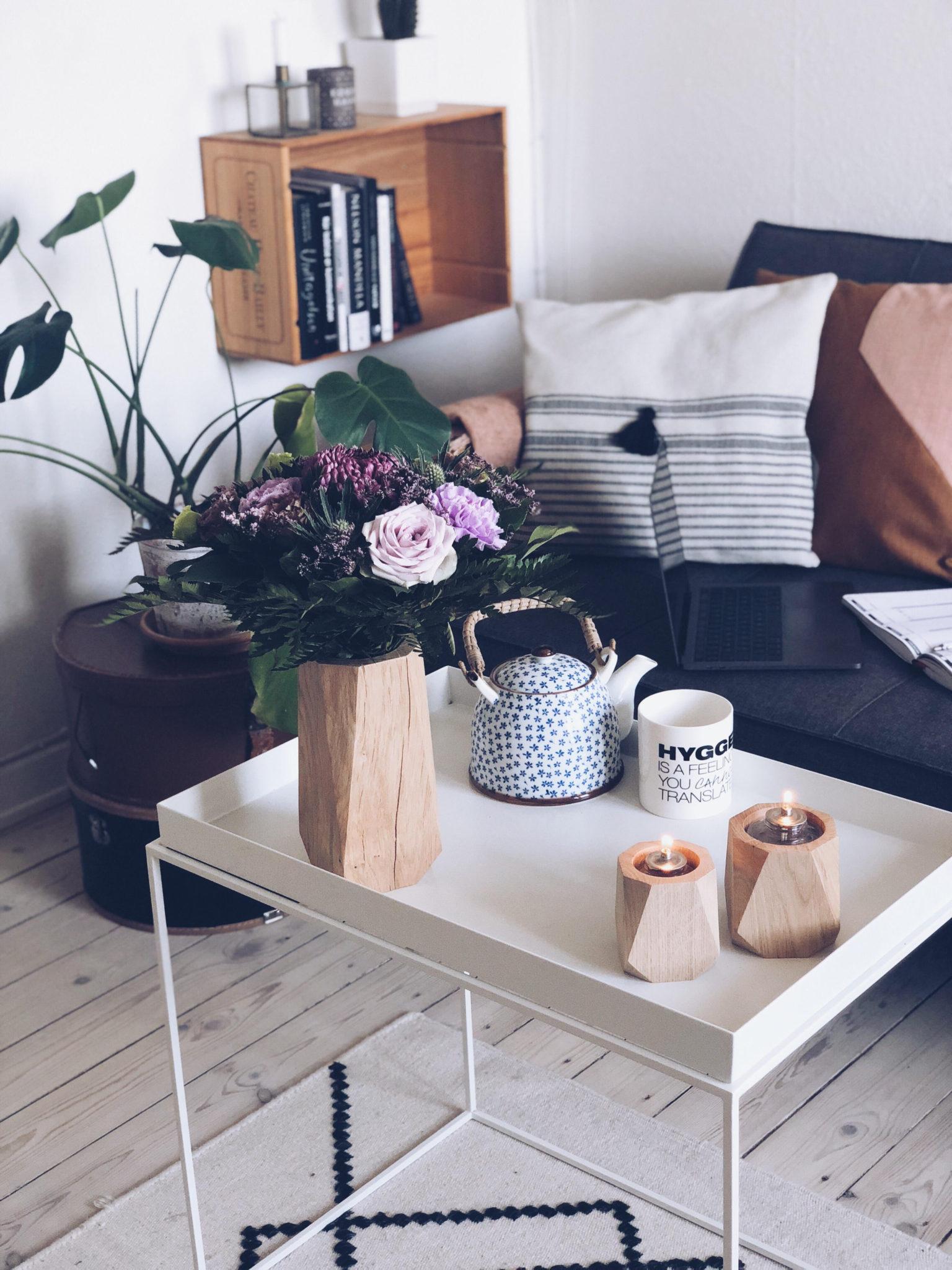 heldal design og vaser og stager af træ for godt indeklima