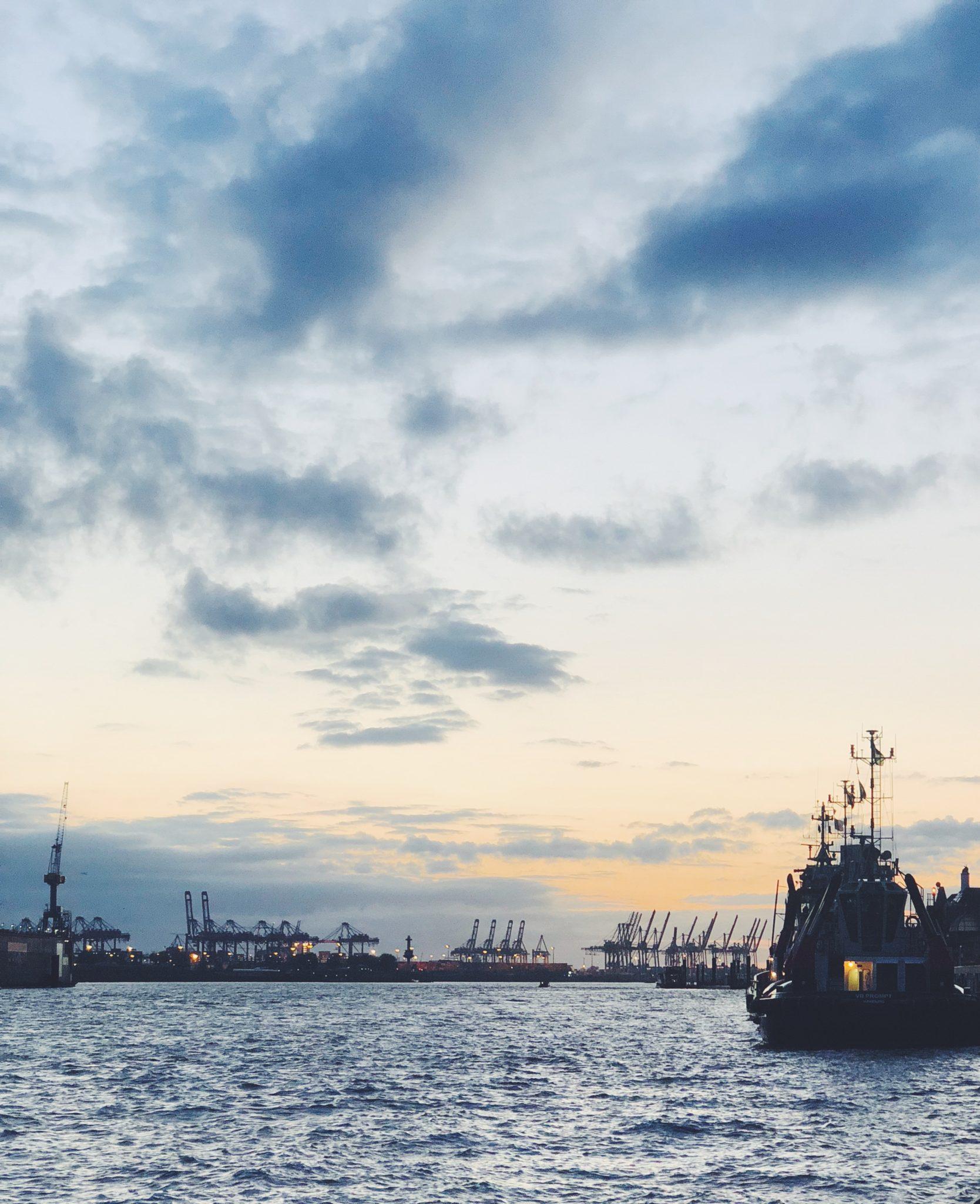 Havnetur i Hamburg