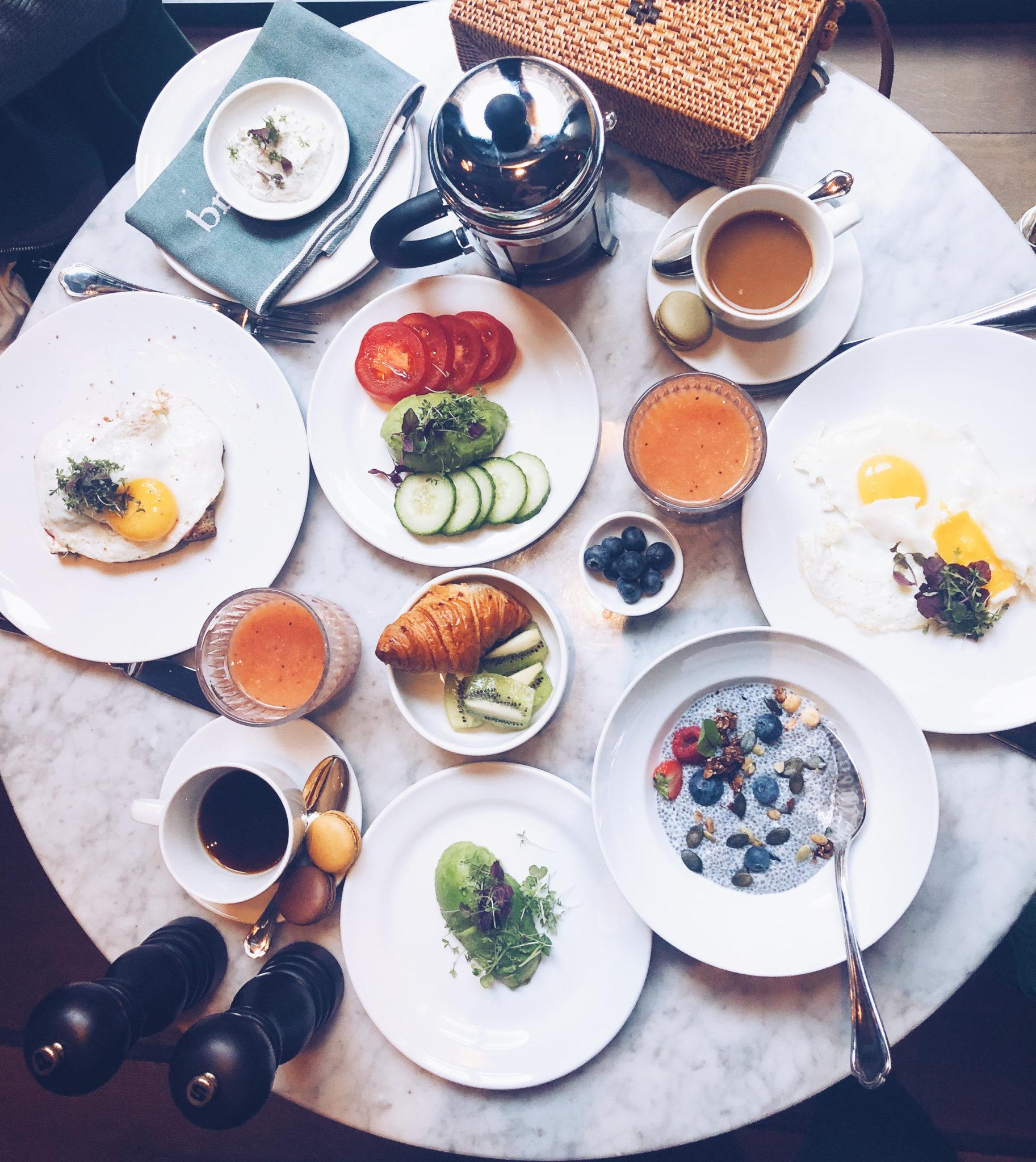 Morgenmad på Hotel Tortue, Hamburg