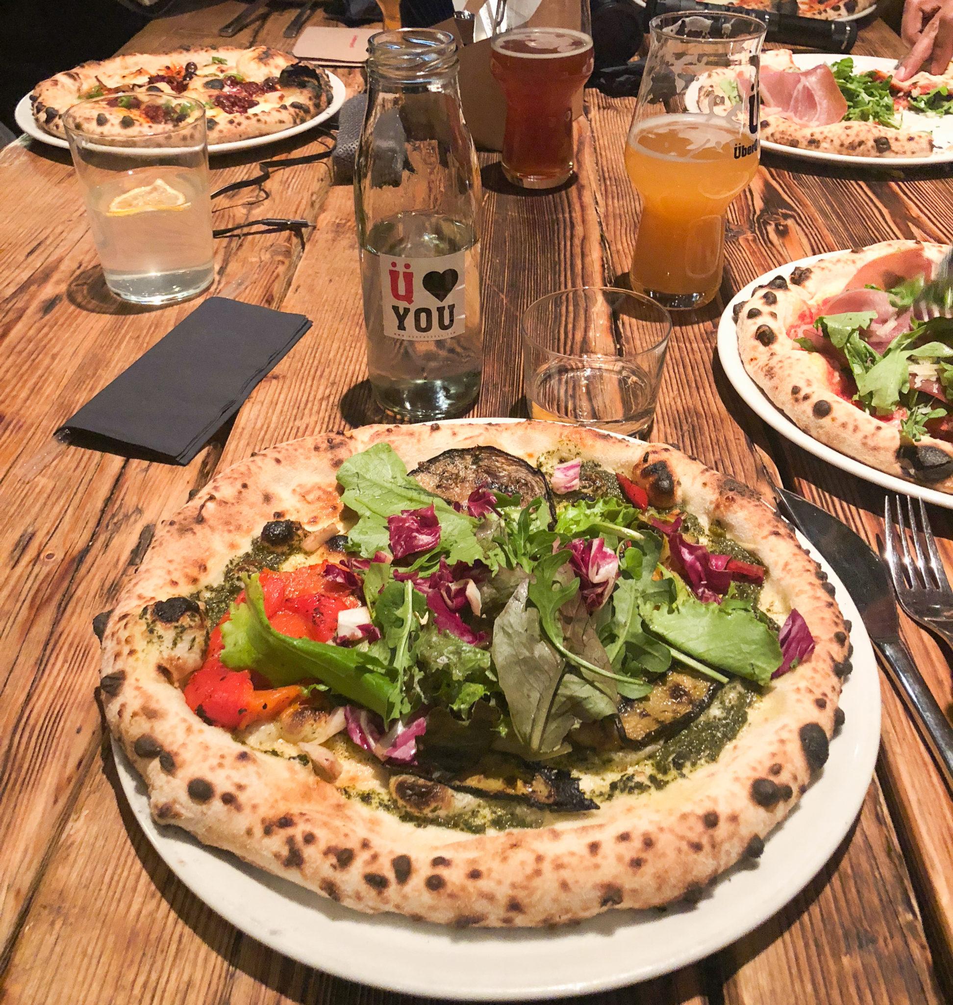 pizza på überquell