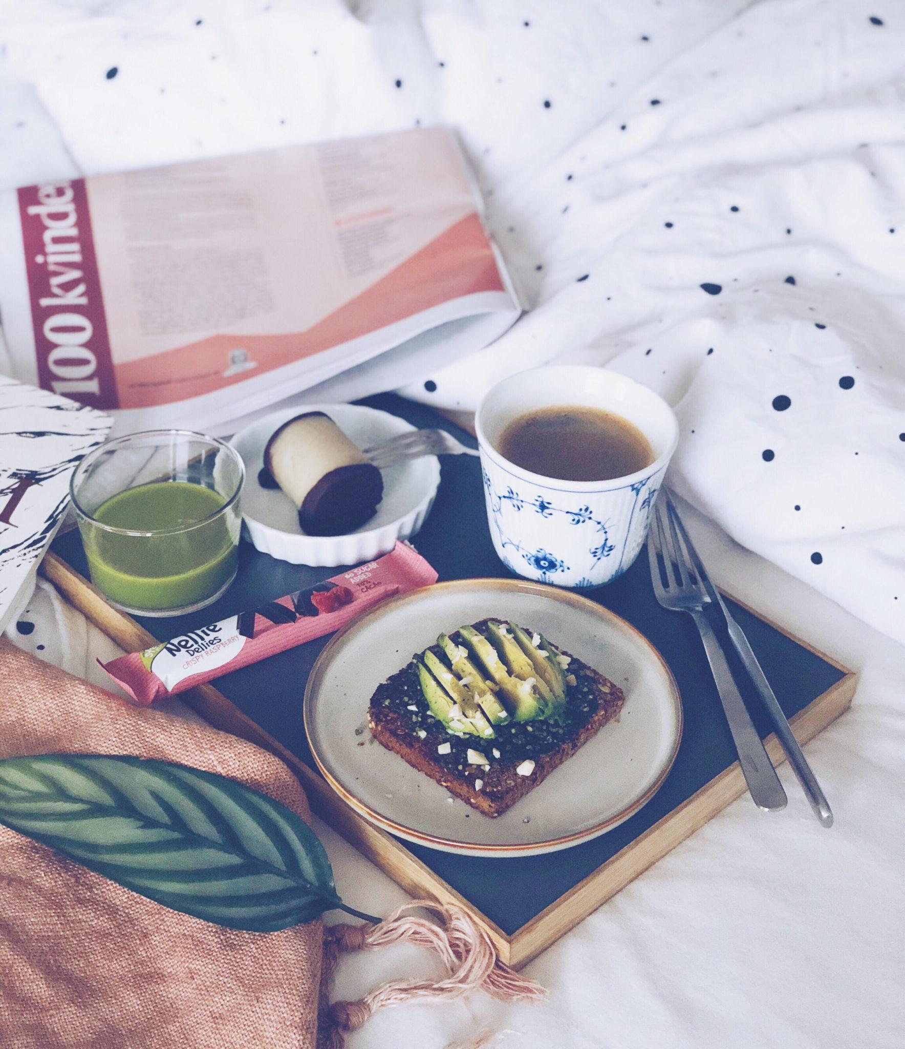 træstammer opskrift og weekendhygge med Berlingske i sengen
