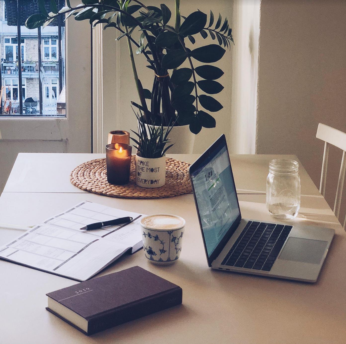 bæredygtigt kontor og nyheder til foråret 2019