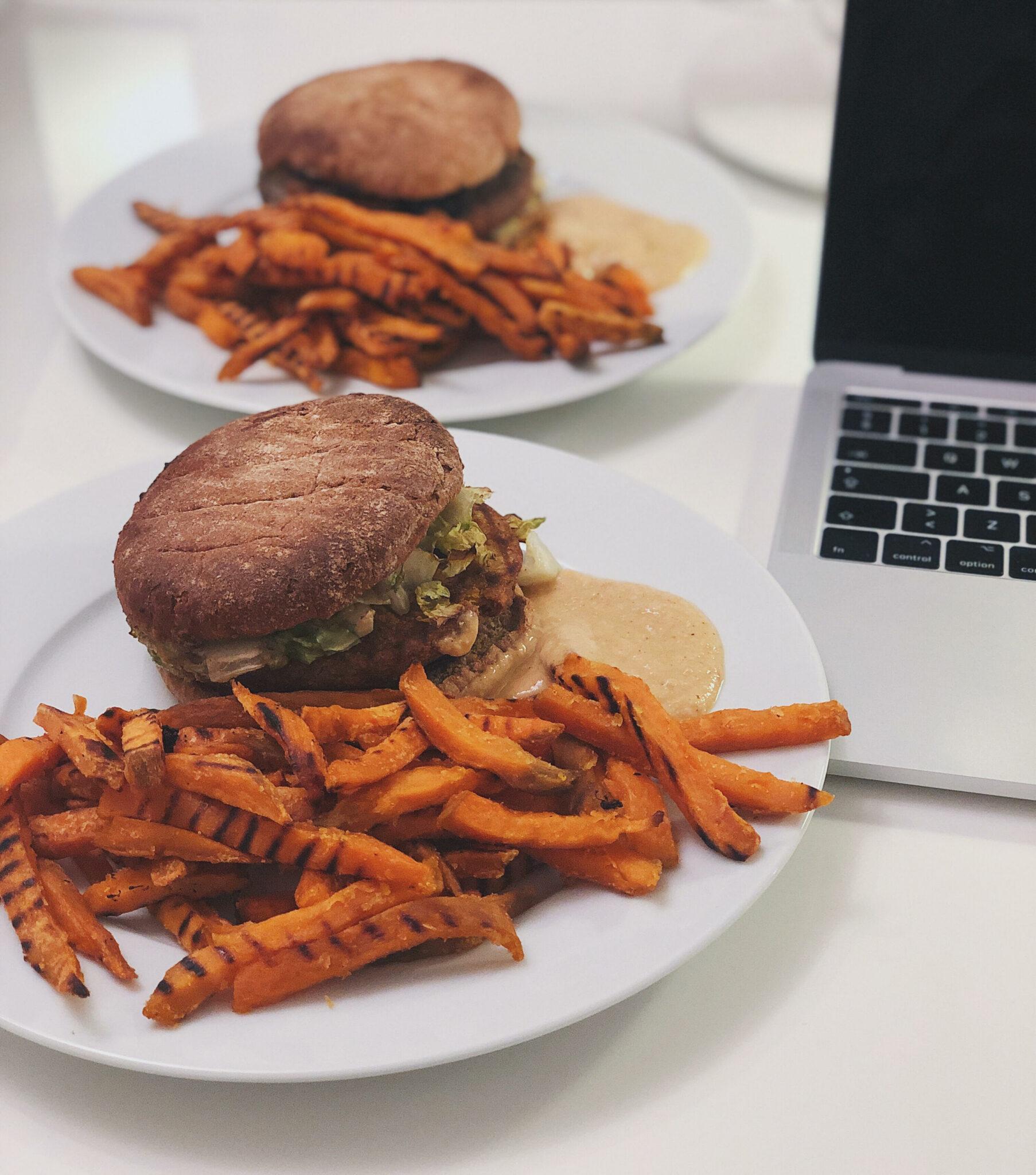 trøffelburger fra 42raw