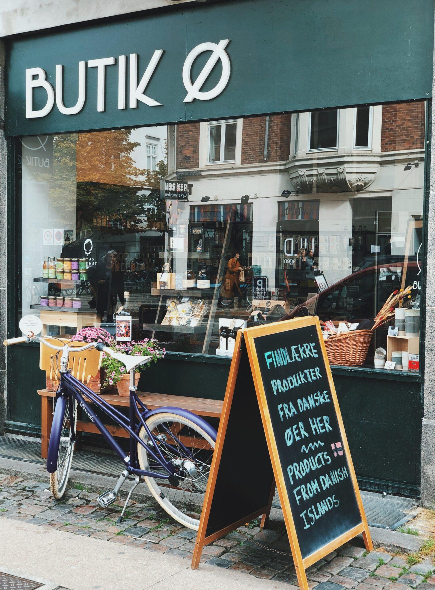 BUTIK Ø på Østerbro: bæredygtig og lokal butik i København