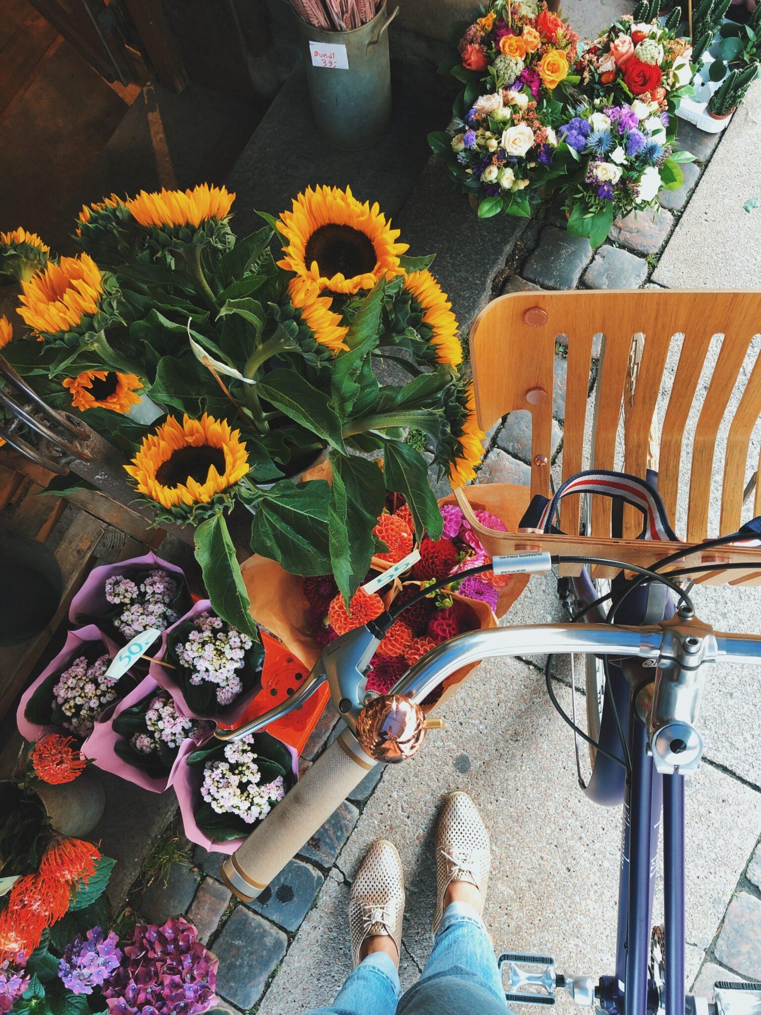 Recycle - cykel lavet af Nespresso kapsler
