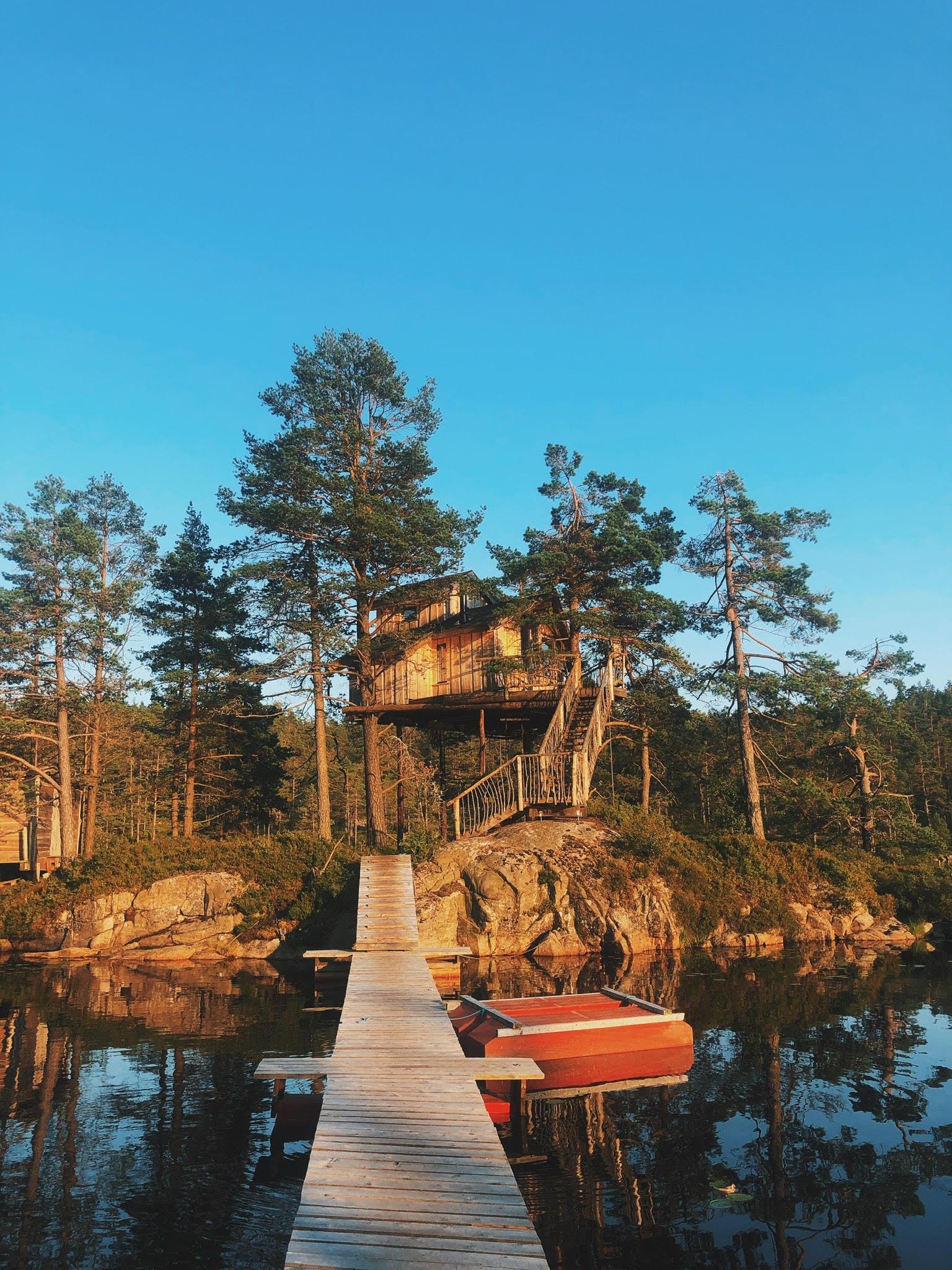 julegaver og oplevelser 2019. Bl.a. glamping og ture til tree top fiddan - luksus træhytte i Norge