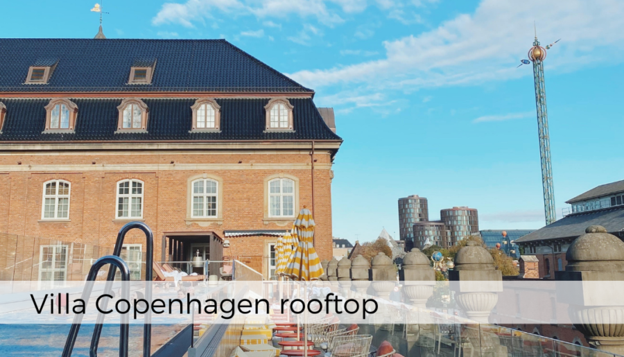 Staycation med rooftop-pool på Villa Copenhagen